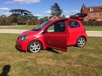 Toyota yaris t sport low miles Red