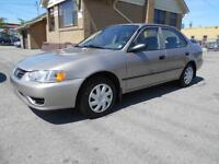 2001 TOYOTA Corolla CE 1.8L Automatic Certified & E-Tested 165Km