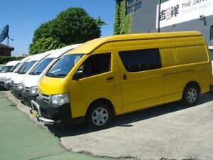 2011 Toyota Hiace TRH221R MY11 Upgrade SLWB Yellow 4 Speed Automatic Van Canada Bay Canada Bay Area Preview