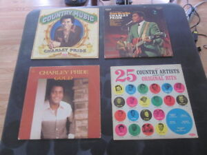 140+ mostly Classic country LP records