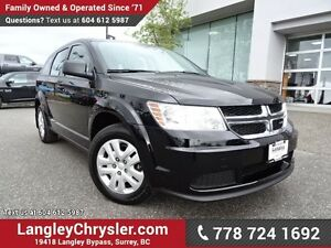 2015 Dodge Journey CVP/SE Plus ACCIDENT FREE w/ POWER WINDOWS...