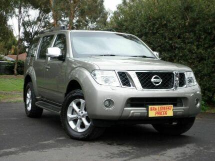 2012 Nissan Pathfinder R51 MY10 TI Beige 5 Speed Auto Seq Sportshift Wagon Melrose Park Mitcham Area Preview