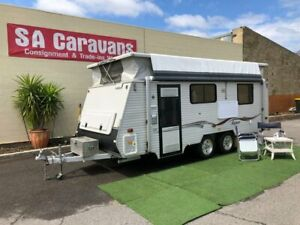 2010 COROMAL MAGNUMM18' POP TOP with SHOWER/TOILET Klemzig Port Adelaide Area Preview