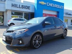 2014 Toyota Corolla S *LEATHER|SUNROOF|ALLOY WHEELS|BACKUP CAMER