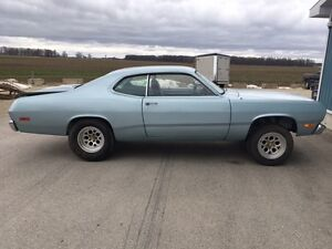 1972 PLYMOUTH DUSTER SOUTHERN CAR !!