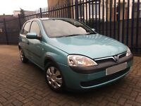 Vauxhall Corsa 1.2 i 16v 5dr LOW LOW MILES+NEW MOT+POWER STEERING+HPI CLEAR+JUST SERVICED