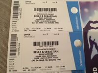2 Seated Tickets for Belle and Sebastian at the Usher Hall 24th March 2018