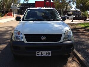 2005 Holden Rodeo LXRA MY05 Crew Cab 5sp manual Vale Park Walkerville Area Preview