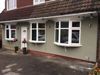 External Wall Insulation & Render (EWI), Colour Rendering, Solid Wall Funding Available, Midlands,