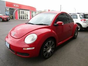 2009 Volkswagen Beetle 9C MY2008 Miami Coupe Red 5 Speed Manual Liftback Ocean Vista Burnie Area Preview