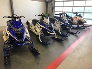 SELECTION OF SNOWMOBILES UP FOR AUCTION FEB. 2ND IN EDMONTON, AB