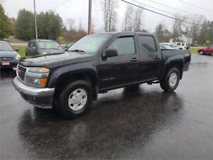 2005 GMC Canyon Z85 4x4 Leather sunroof 113 miles safetied