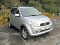 2007 (07) Daihatsu Terios SX, 1495cc Petrol, 5 Speed Manual, 4 WHEEL DRIVE / 4x4