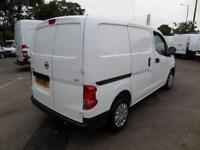 Nissan Nv200 1.5 Dci SE 89BHP EURO 5 DIESEL MANUAL WHITE (2013)