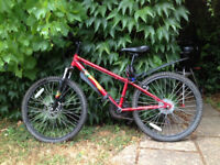 "Apollo Crank Mountain Bike 14"" Frame Shimano Gears"