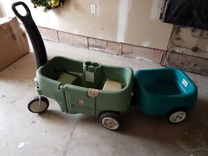 Step two wagon and trailer