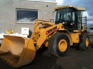 2013 wheel loader Chenggong CG958H -- Seulement 410 heures