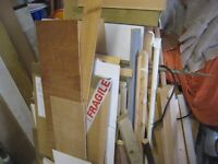 Joblot of offcuts of timber