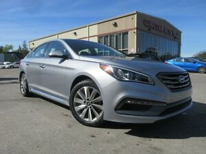 2016 Hyundai Sonata SPORT TECH, NAV, ROOF, LEATHER, 48K!