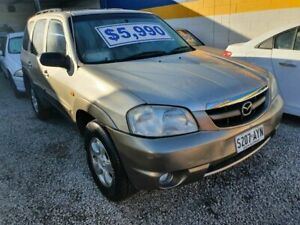 2001 Mazda Tribute Classic Gold 4 Speed Automatic Wagon Morphett Vale Morphett Vale Area Preview