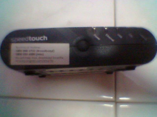 Thomson Speedtouch Router