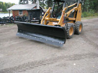 BOBCAT AND SKID STEER ATTACHMENT SNOW BLADES
