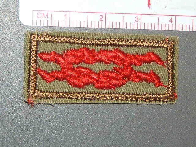 Boy Scout Honor Medal square knot 0592R