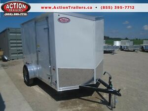 SUMMER CLEARANCE -2017 ENCLOSED 6X11' ENCLOSED CARGO TRAILER London Ontario image 1