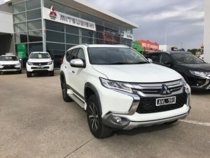 2018 Mitsubishi Pajero Sport QE MY18 GLS White 8 Speed Sports Automatic Wagon Hoppers Crossing Wyndham Area Preview