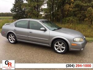 2003 NISSAN MAXIMA SE Leather, Sunroof, Spoiler, Nice Condition
