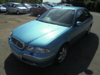 Rover 45 1.6I 16V IMPRESSION S, LOW MILES (blue) 2003