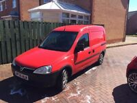 Vauxhall Combo 1.3cdti low milage 2008