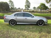 2002 Ford Falcon BA XR6 Silver 4 Speed Auto Seq Sportshift Sedan Mayfield East Newcastle Area Preview