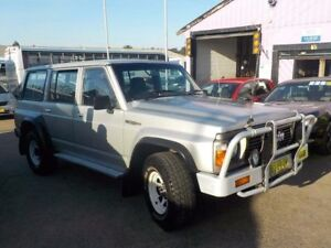 1989 Nissan Patrol GQ ST Silver 4 Speed Automatic Wagon North St Marys Penrith Area Preview