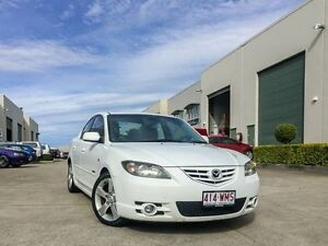 2004 Mazda 3 BK SP23 White 4 Speed Auto Activematic Sedan Brendale Pine Rivers Area Preview