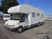 2005 CHAUSSON WELCOME 27 6 BERTH MOTORHOME WITH ONLY 26000 MILES ANDERSON CARAVAN SALES