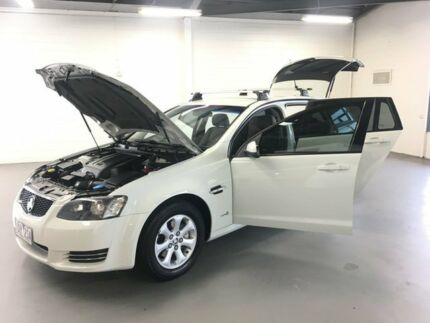 2012 Holden Commodore VE II MY12.5 Omega Sportwagon White 6 Speed Sports Automatic Wagon