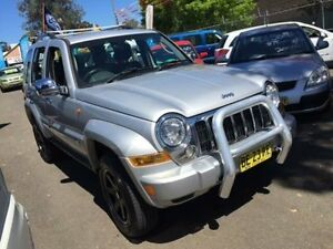 2004 Jeep Cherokee KJ MY05 Upgrade Limited (4x4) Silver 5 Speed Automatic Wagon Campbelltown Campbelltown Area Preview