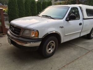F150XL -V6 - canopy & tow - automatic - great condition