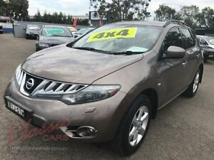 2009 Nissan Murano Z51 TI Bronze Continuous Variable Wagon Lansvale Liverpool Area Preview