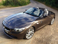 "BMW Z4 2.5 sDrive 23i (2010) Havana Brown w/ Cream Leather, Sat Nav, Park Sensors, 19"" Alloys"