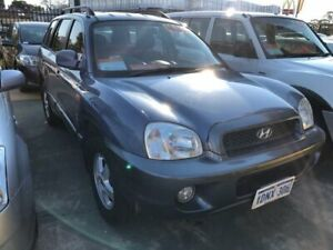 2003 Hyundai Santa Fe GL (4x4) 4 Speed Automatic Wagon St James Victoria Park Area Preview