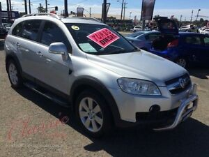 2010 Holden Captiva CG MY10 LX (4x4) Silver 5 Speed Automatic Wagon Lansvale Liverpool Area Preview