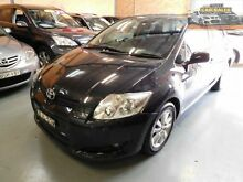 2009 Toyota Corolla ZRE152R MY10 Conquest Black 4 Speed Automatic Hatchback South Penrith Penrith Area Preview