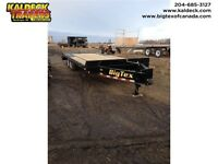 "BIG TEX 14PH 8.5'(102"")x20'+5' TANDEM AXLE PINTLE"