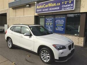 2015 BMW X1 xDrive28i TOIT PANO-GARANTIE BMW- CONDITION SHOWROOM West Island Greater Montréal image 1