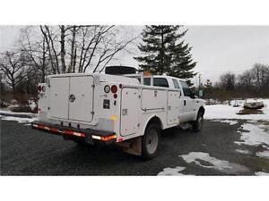 2004 Ford F-450 4X4 DUALS DIESEL SERVICE BODY 136,000 KM $19,900 Prince George British Columbia image 7