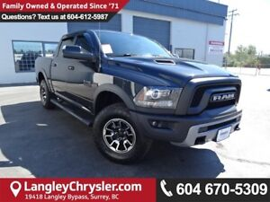 2016 RAM 1500 Rebel *ONE OWNER*LOCAL BC TRUCK*