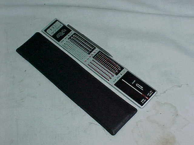 HEXCO Hex Mechanical Stylus Calculator HEX Adder ~  Case, Instructions & Stylus