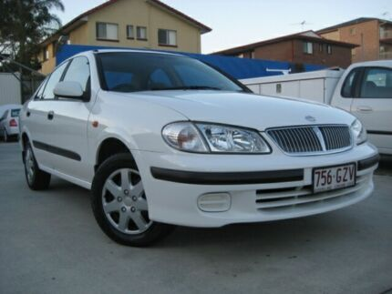 2001 Nissan Pulsar N16 ST White 4 Speed Automatic Sedan Chermside Brisbane North East Preview